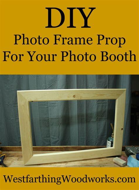 diy photo frame prop photo frame prop easy woodworking