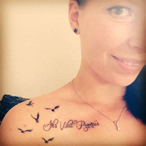 pinterest tattoo alis volat propriis alis volat propriis tattoo lifestyle women beautiful ink