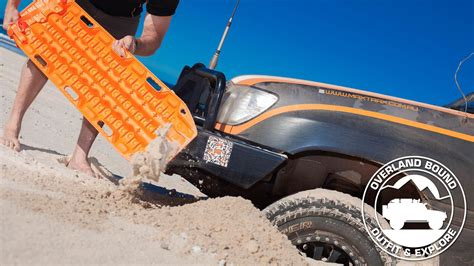 Sand Trax Sand Lander Road overland expo 16 maxtrax and arb overland bound