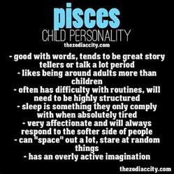 pisces child personality zodiac pinterest you think