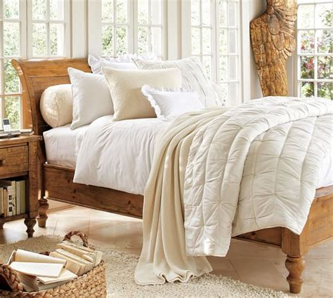 Pottery Barn Sleigh Bed Ashby Sleigh Bed Pottery Barn