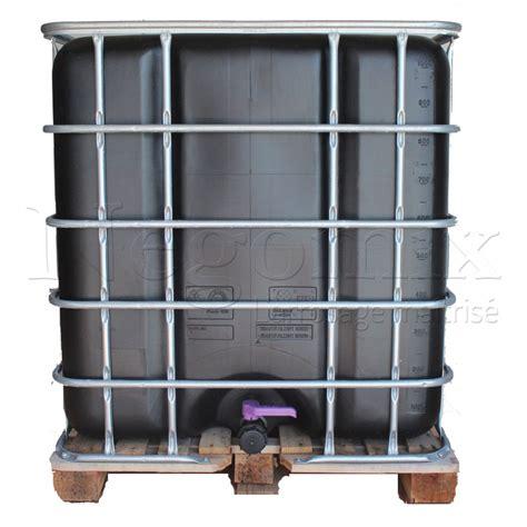 cuve citerne palette bois de 1000 litres r 233 cup 233 ration eau