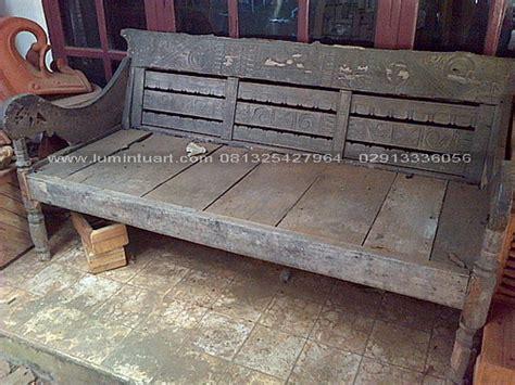 Bale Bale Risban Jati P200xl100 mebel antik kayu jati bekas recycle bangko bale bale kuno