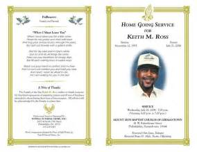 memorial order of service template free funeral program templates funeral program sle