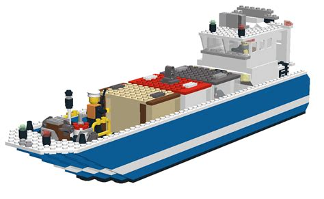 lego cargo boat sets mocs boats lego town eurobricks forums