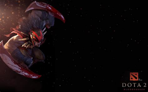 wallpaper dota 2 black dota2 bloodseeker hd desktop wallpapers