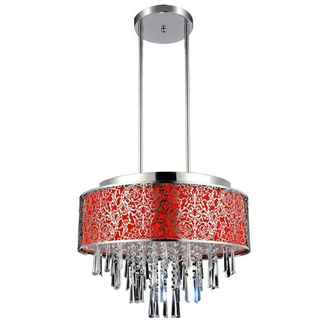 round fabric shade pendant light brizzo lighting stores 20 quot drago modern crystal round