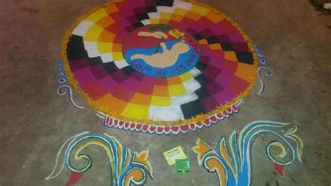 rangoli themes on social issues picture gallery theme based rangolis on burning issues at