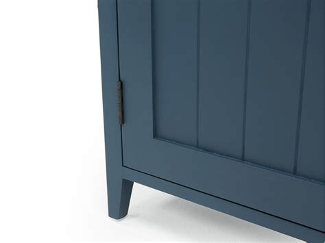 inky blue cidre sideboard in inky blue painted sideboard loaf