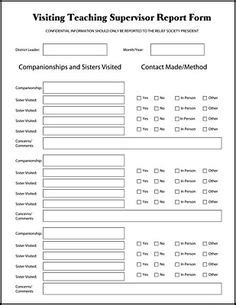 1000 Images About Visiting Teaching On Pinterest Visiting Teaching Visiting Teaching Message Visiting Teaching Reporting Template
