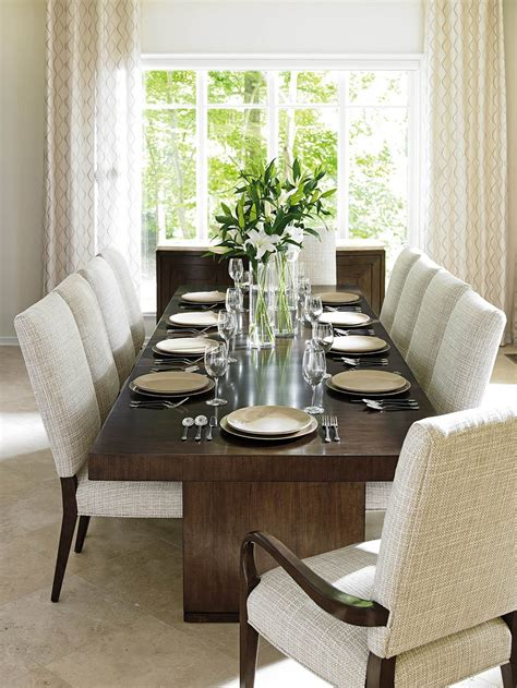 lexington dining room set lexington laurel canyon 11pcs rectangular dining room set