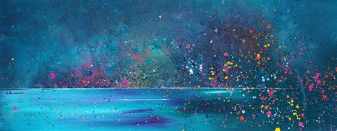 spray paint northern lights paintings prints of the isles of lewis harris eriskay