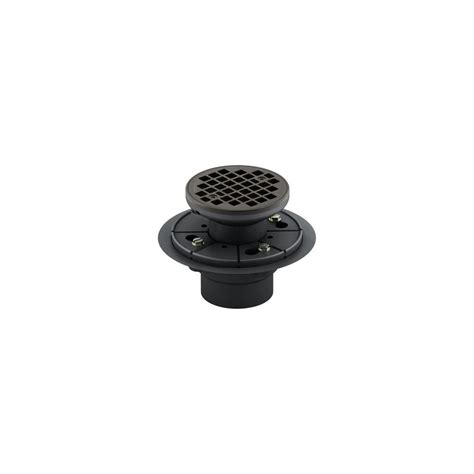 kohler round design tile in shower drain in oil rubbed bronze k 9135 2bz the home depot