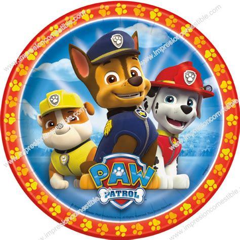 patrulla canina cachorros al oblea de patrulla canina perros