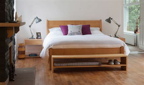 bed with bench end of bed bench bedroom storage natural bed company