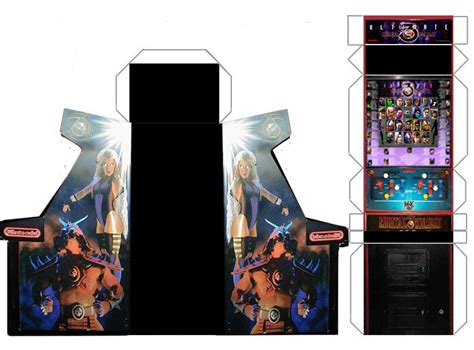 Arcade Papercraft - mame cabinet bezels quality wallpaper ilovouby
