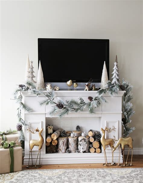 faux fireplace mantel beautiful ways to style decorate a faux fireplace