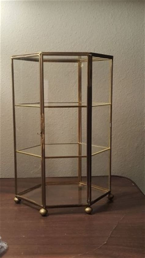 table top curio display case glass curio display cabinet hollywood thing