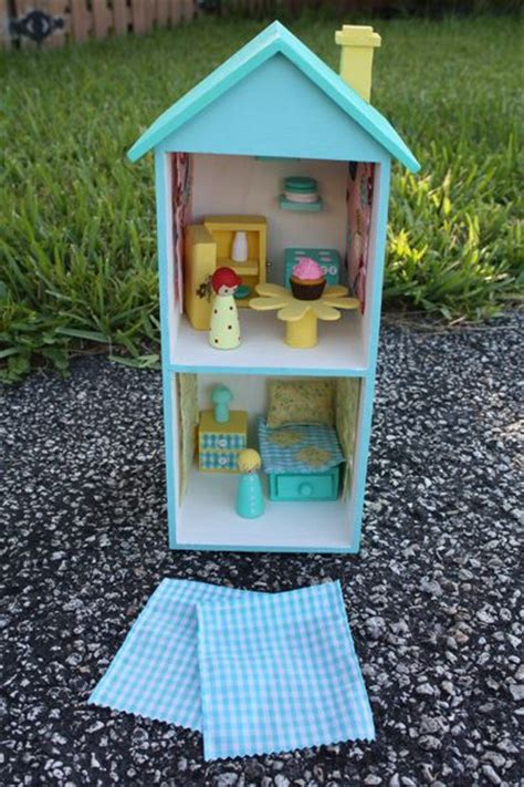 peg house wooden peg doll house