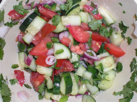 Link Gazpacho Salad by Spicy Cucumber And Tomato Salad Gazpacho A S