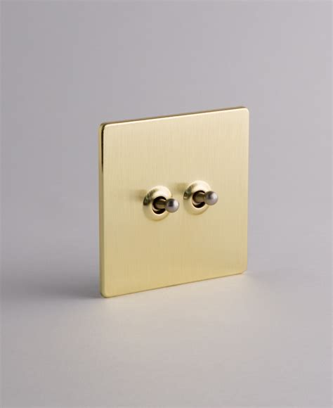 toggle dimmer light switch gold double toggle switch with black silver or gold toggles