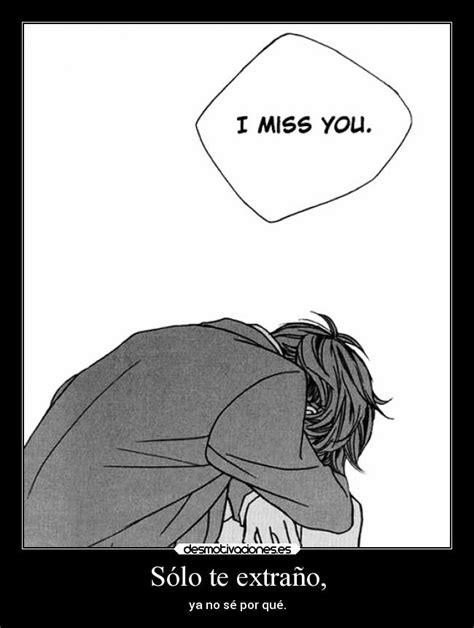 imagenes de amor anime tumblr s 243 lo te extra 241 o desmotivaciones