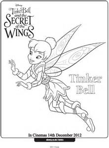 tinkerbell colouring