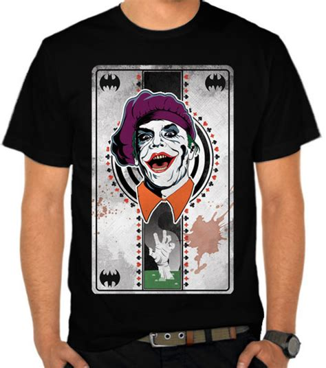 Kaos Joker Batman gambar sr feature batman joker gambar logo di rebanas