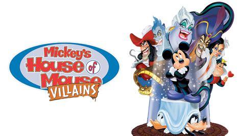 house of villains mickey s house of villains movie fanart fanart tv
