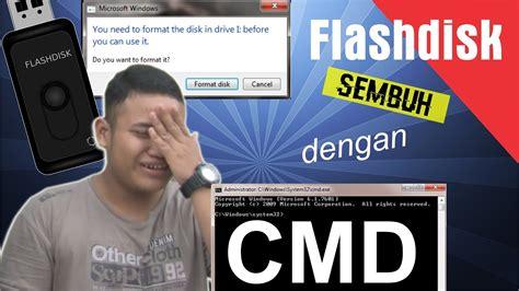 format flashdisk raw berhasil cara memperbaiki flashdisk minta format dengan