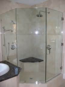 frameless bathroom shower doors frameless shower door neo angle traditional bathroom
