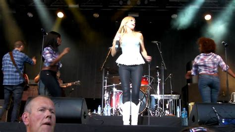 country music festival vinstra 2012 american laura bell bundy live at country music festival
