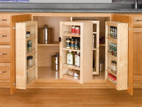 base cabinet swing out pantry system