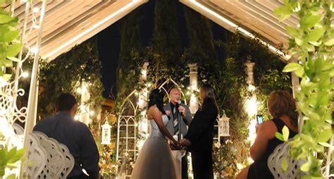 Backyard Wedding Las Vegas Nv Las Vegas Outdoor Weddings Daytime Garden Wedding Packages