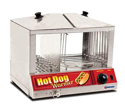 hot dog machine with bun warmer omcan 40305 100 hotdog steamer machine 48 bun warmer