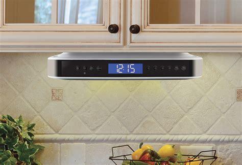 cabinet bluetooth speaker undercabinet bluetooth kitchen speaker green living offers