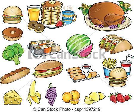 bilder kleinen speisesã len vector clip voedingsmiddelen maaltijd drank