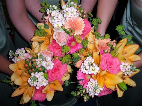And Bridesmaid Flower Bouquets by Bridesmaids Bouquets White Iris Designs A Gallery Of