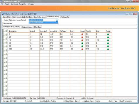 calibration report template best photos of calibration procedure template