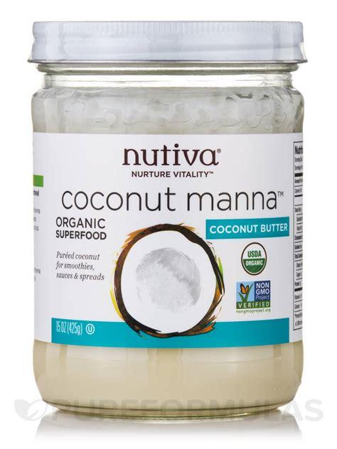 Artemia Plus 425 Gram coconut manna coconut butter 15 oz 425 grams