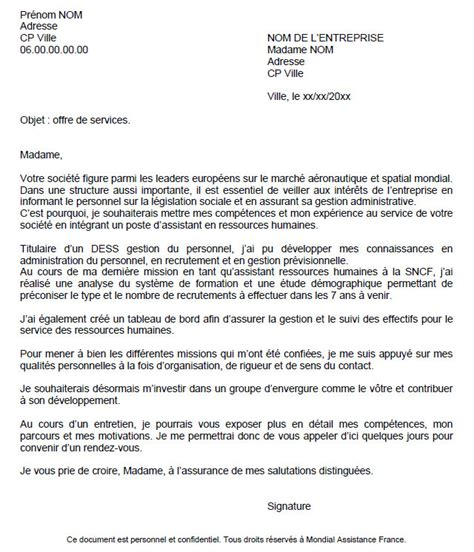 Lettre De Motivation Candidature Spontanée Neutre Lettre De Motivation Candidature Spontanee Le Dif En Questions