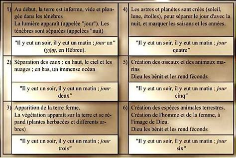 Biblical Ls by Cr 233 Ation Du Monde En 7 Jours Selon La Bible Atoi2voir
