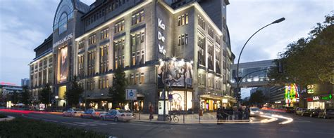 kadewe  famous department store  berlin visitberlinde