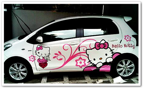 Variasi Sticker Kulkas 1 Pintu Motif Doraemon 1 gambar motif cutting sticker mobil terbaru yang nge trend