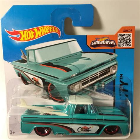Hotwheels Custom 62 Chevy Blue With Surfing Board models wheels custom 62 chevy 2015 wheels hw city surf patrol blue carded was