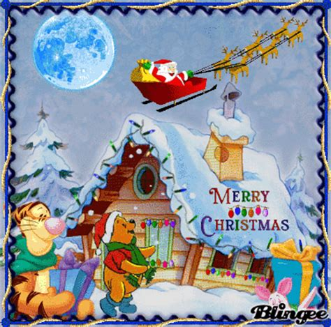 winnie the pooh holiday light pooh picture 127211961 blingee