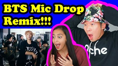 download mp3 bts mic drop remix bts mic drop steve aoki remix official mv reaction
