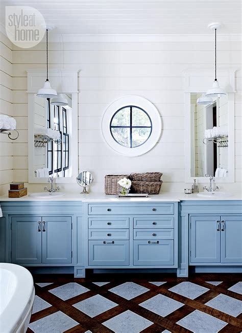 Painted Bathroom Cabinet Ideas by Lake Muskoka Cottage With Coastal Interiors Home Bunch
