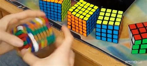 gif rpg wallpaper watch this guy breaking a rubik s cube world record at