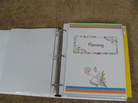 household planner make a household planner notebook 4 my planning section